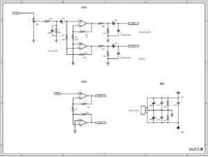 バランスヘッドフォンアンプ回路図