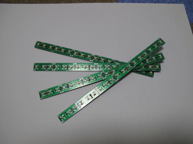 LED・チップ基板ハンダ付け