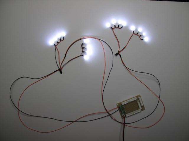 車両マーカー用LED及び制御基板